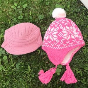 Girls winter hats